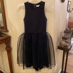 NWT~ABERCROMBIE KIDS Black Embellish Dress 13/14YR